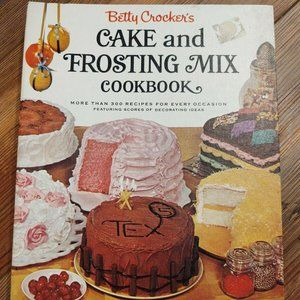 1966 Betty Crocker Cake And Frosting Mix Cookbook